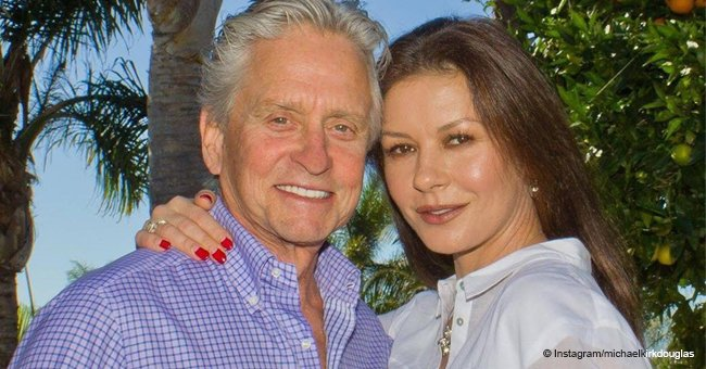 Michael Douglas Shares Sweet Photo with Wife Proving How Much He Loves Her
