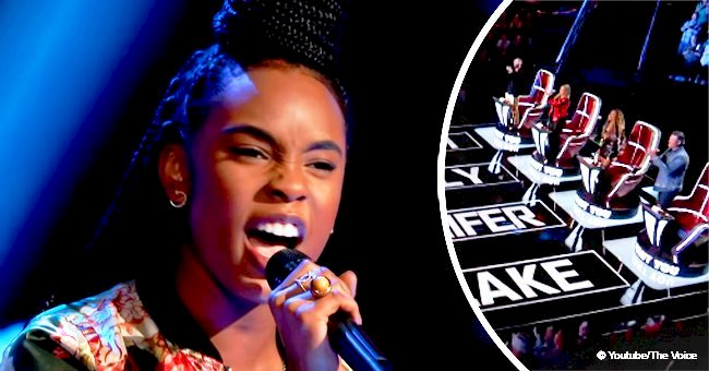 13-yr-old's performance on 'The Voice' made 4 coaches turn within seconds in viral video from 2018