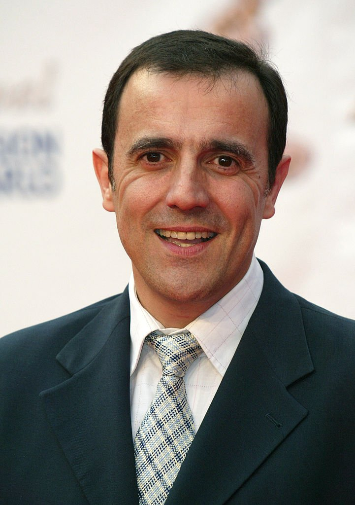 Le présentateur Thierry Beccaro. | Photo : Getty Images.