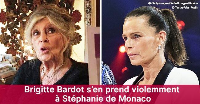 """""""On peut être princesse et dire des conneries !"""" : Brigitte Bardot attaque Stéphanie de Monaco"""