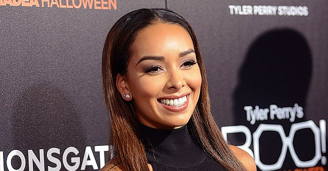 Gloria Govan of 'Basketball Wives' Shows off Fit Figure in Sports Top and Black Leggins (Photo)