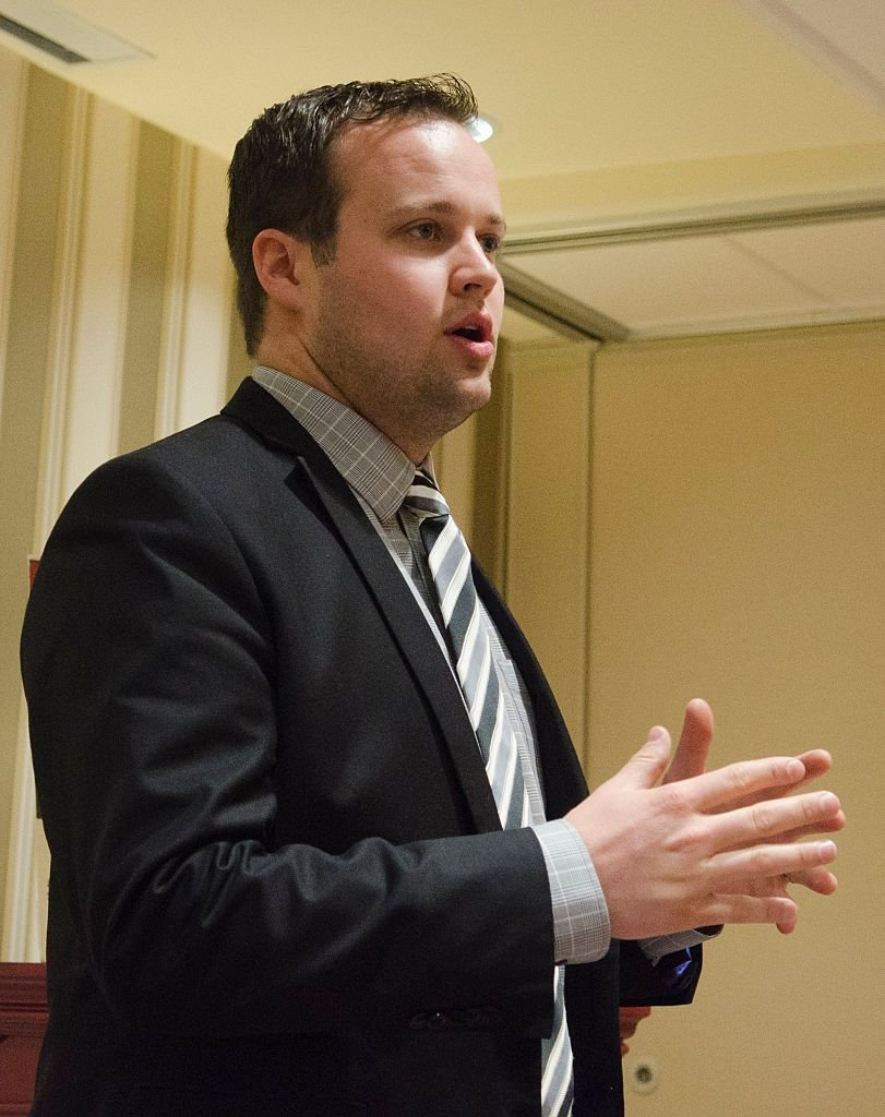 Josh Duggar speaks during the 42nd annual Conservative Political Action Conference (CPAC) on February 28, 2015.  Getty Images