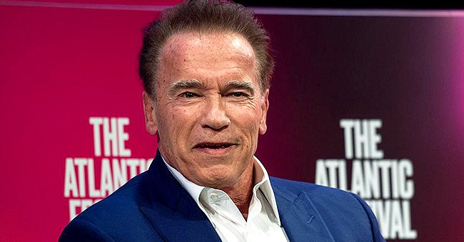 Arnold Schwarzenegger's Son Joseph Goes Shirtless to Show His Perfect Shape While Doing Pull-Ups