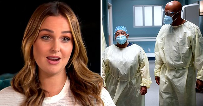 How 'Grey's Anatomy's' Camilla Luddington Responded to Criticism over Wearing KN95 Mask on Set