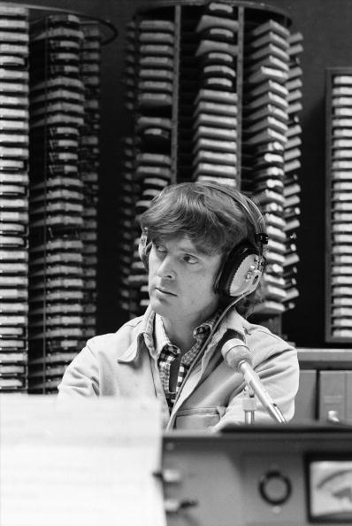 Don Imus on the air during his radio show on WNBC, New York, New York, October 1972 | Photo: Getty Images