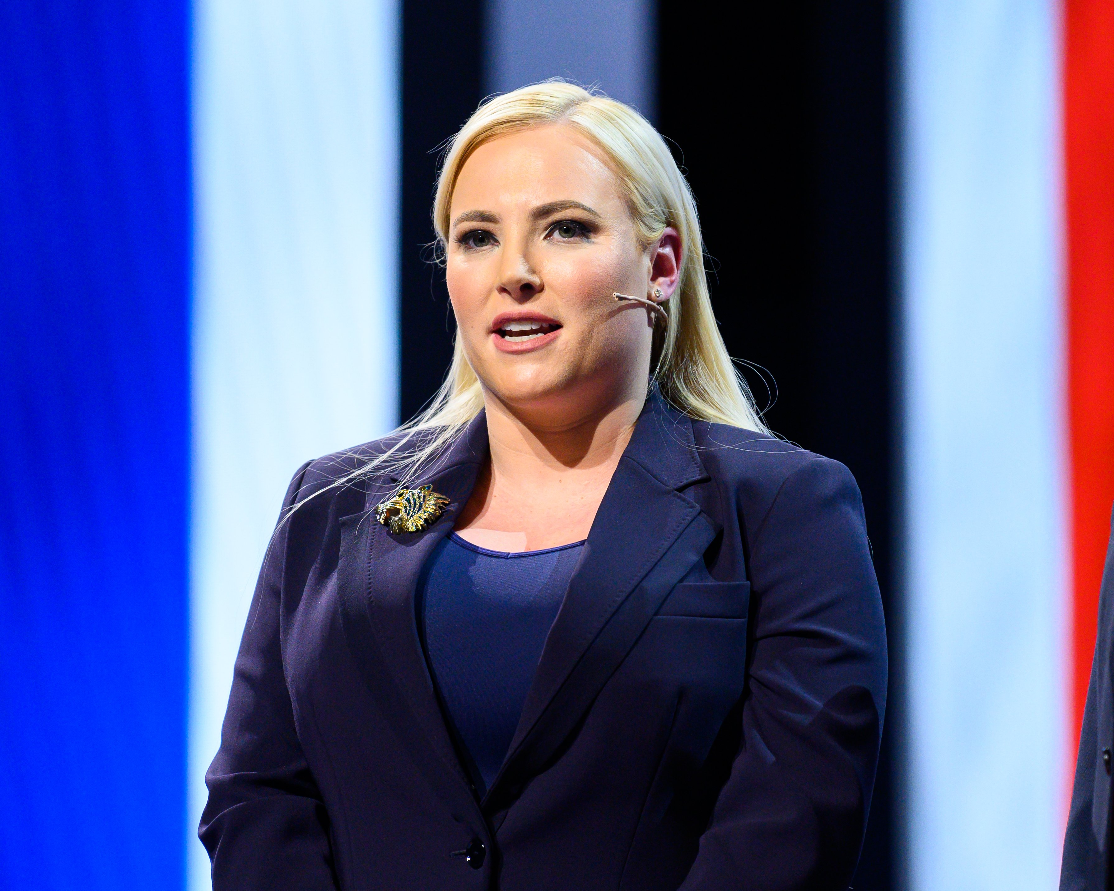 Meghan McCain during the American Israel Public Affairs Committee Policy Conference in Washington, DC on March 03, 2019    Photo: Getty Images