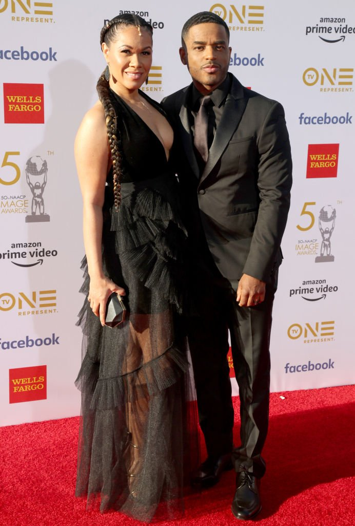 Tomasina Parrott and Larenz Tate attend the 50th NAACP Image Awards at Dolby Theatre on March 30, 2019. | Photo: Getty Images