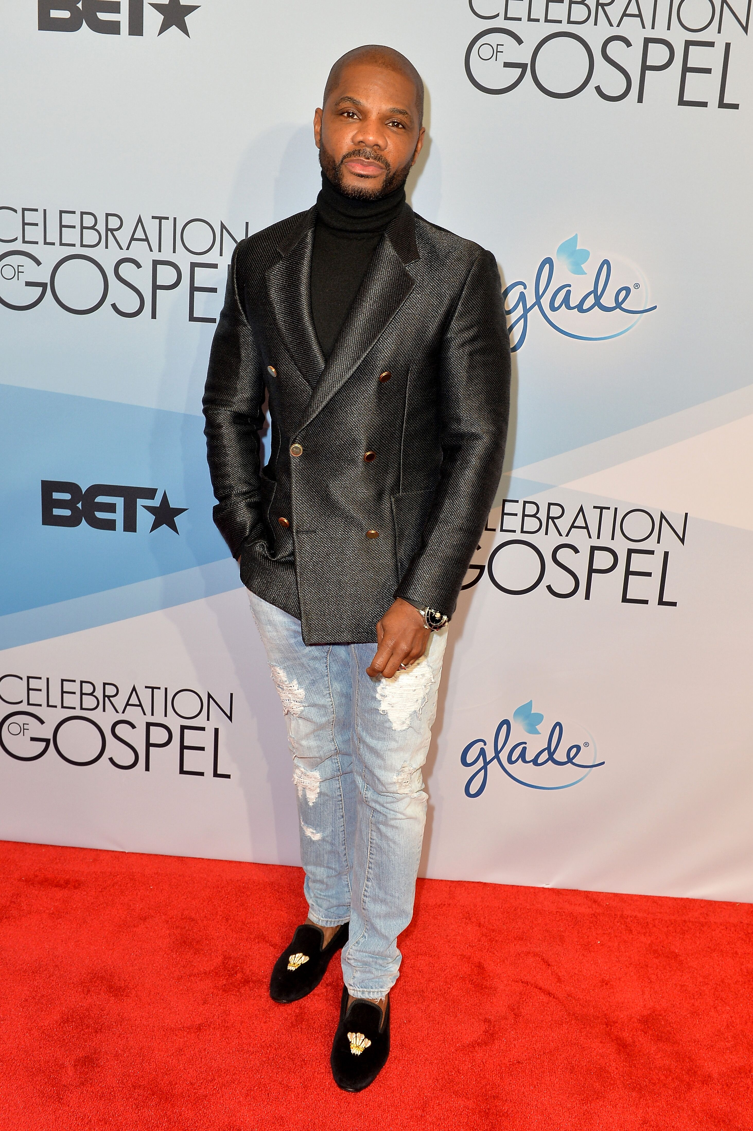 Kirk Franklin attends BET Celebration Of Gospel at Orpheum Theatre on January 9, 2016 in Los Angeles, California | Photo: Getty Images