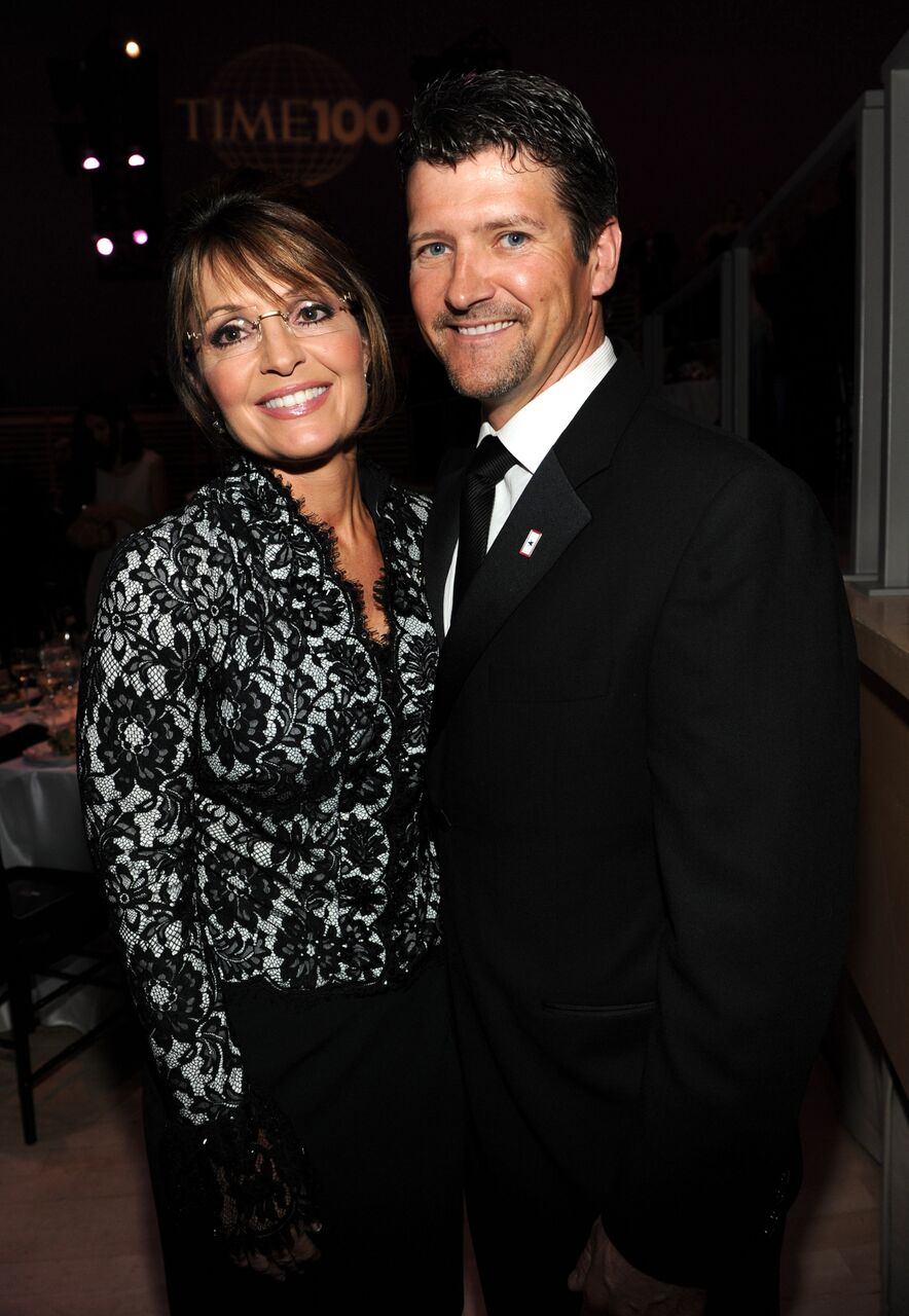 Sarah Palin and Todd Palin attends Time's 100 most influential people in the world gala. | Source: Getty Images