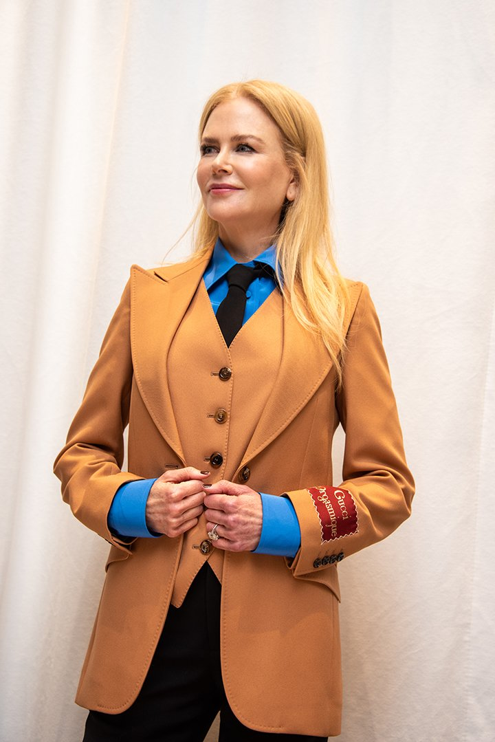 """Nicole Kidman at """"The Undoing"""" Press Conference at the Four Seasons Hotel in Beverly Hills, California, in March 2020. I Image: Getty Images."""
