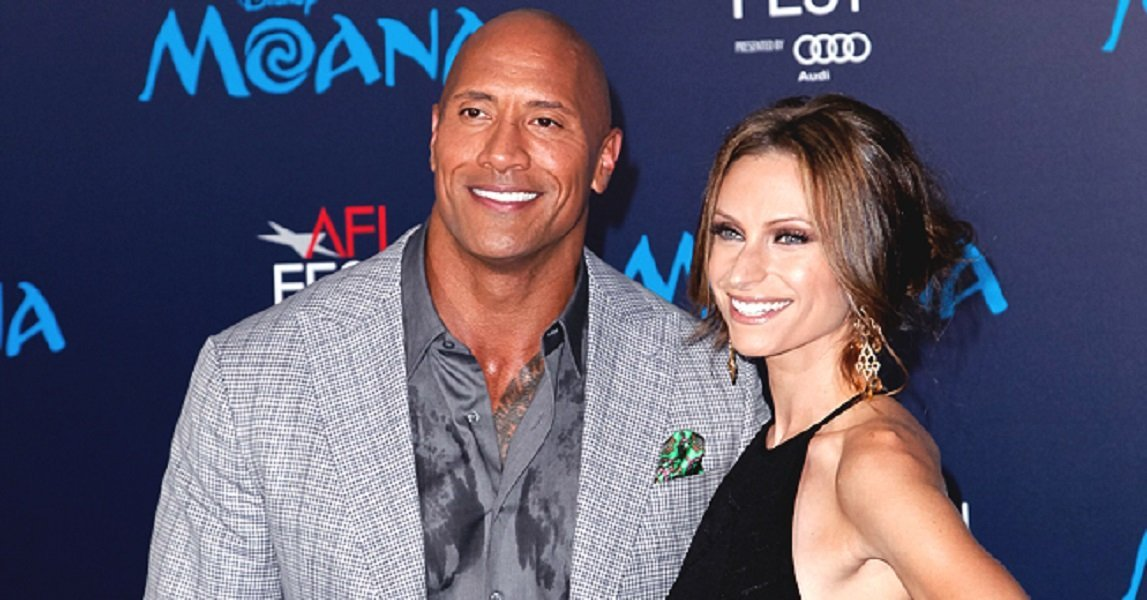 Dwayne Johnson and his wife, Lauren Hashian.| Photo: Getty Images.