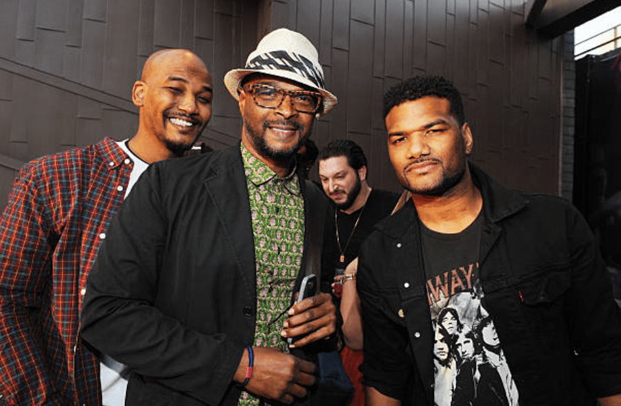 Mike Wayans, Damon Wayans, and Damian Wayans attend Vanessa Simmons and Mike's Baby Shower on January 18, 2014 in Los Angeles, California | Source: Getty Images  (Photo by Amy Graves/WireImage)