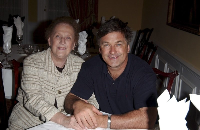 Carol Baldwin and Alec Baldwin at the 2004 Carol M. Baldwin Breast Cancer Research Fund's Annual Celebrity Golf Outing in July 2004   Photo: Getty Images