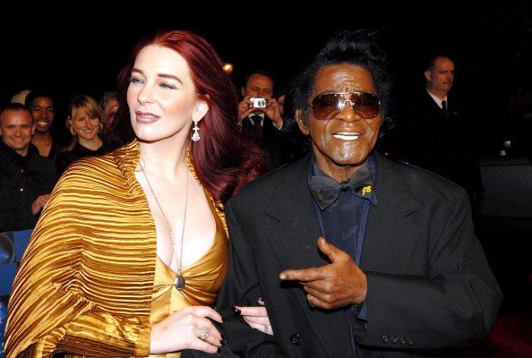 James Brown and wife Tomi Rae during UK Music Hall Of Fame 2006. | Photo: Getty Images