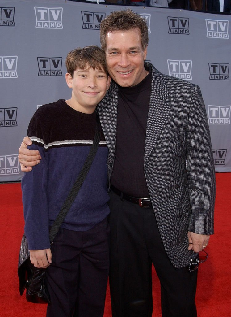 Don Grady and son Joey during TV Land Awards: A Celebration of Classic TV - Arrivals at Hollywood Palladium in Hollywood, California. | Photo: Getty Images
