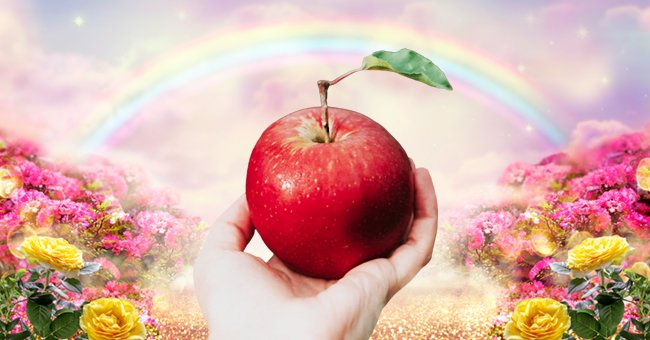 Daily Joke: 2 Men Die and Go to Heaven, but One of Them Bites the Forbidden Apple