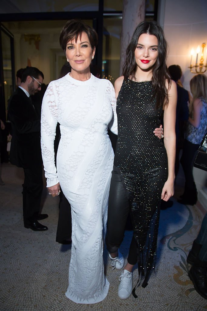 Kris and Kendall Jenner | Source Getty
