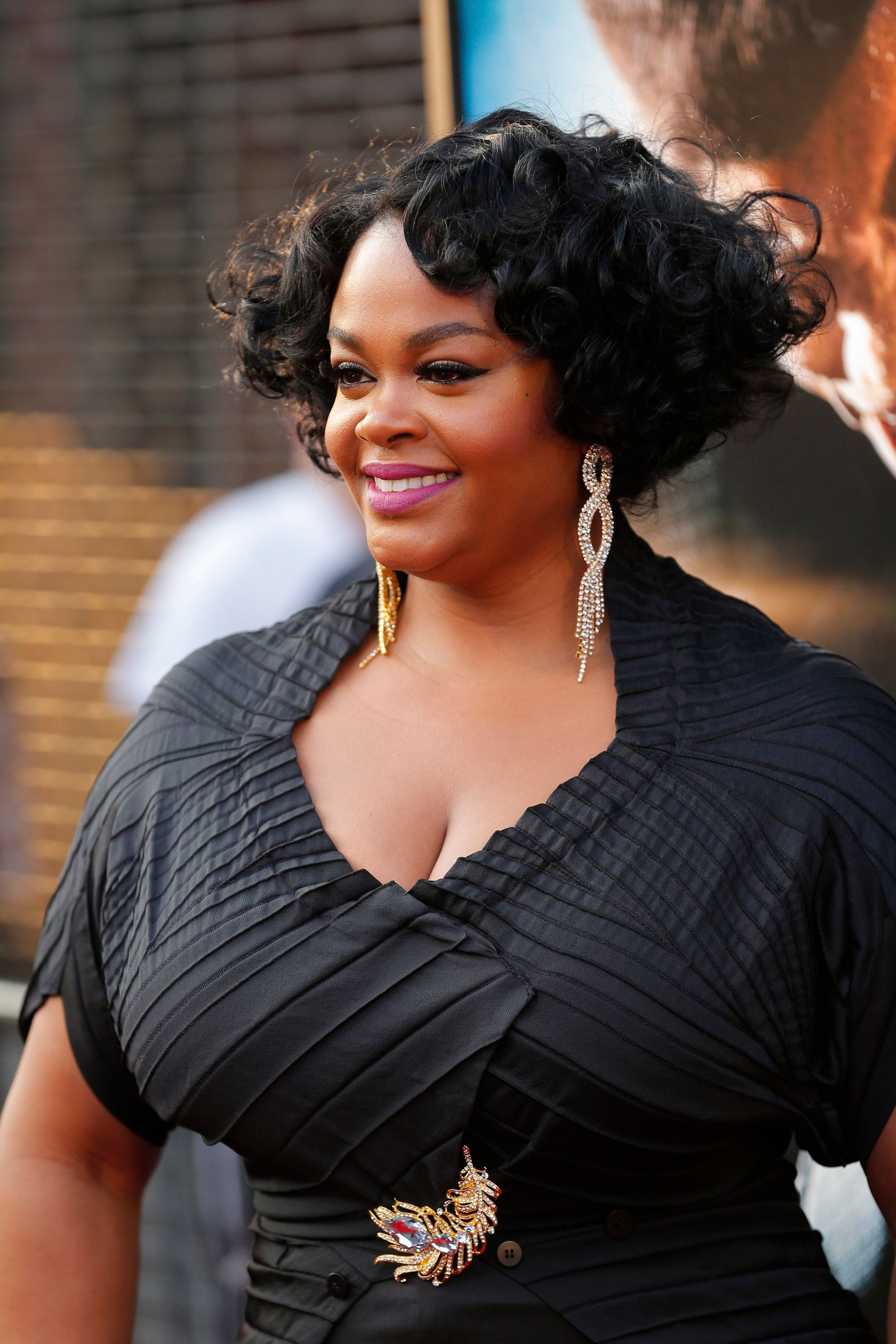 """Jill Scott at the premiere of """"Get On Up"""" in 2014 in New York 