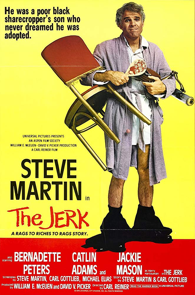 """Poster for the 1979 movie """"The Jerk"""" in which Mabel King co-starred with  Steve Martin 