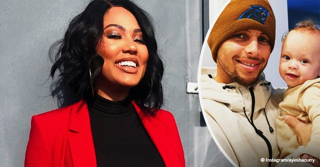 Ayesha Curry melts hearts with picture of husband Steph Curry and son after his car accident