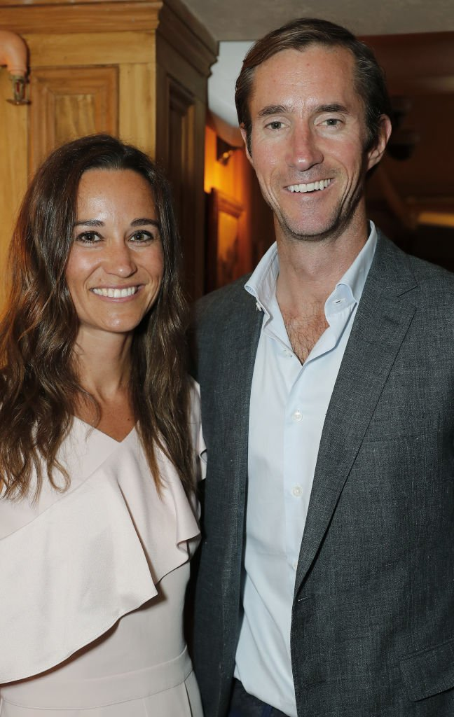 Pippa Middleton and James Matthews at The Miles Frost Fund party. | Source: Getty Images
