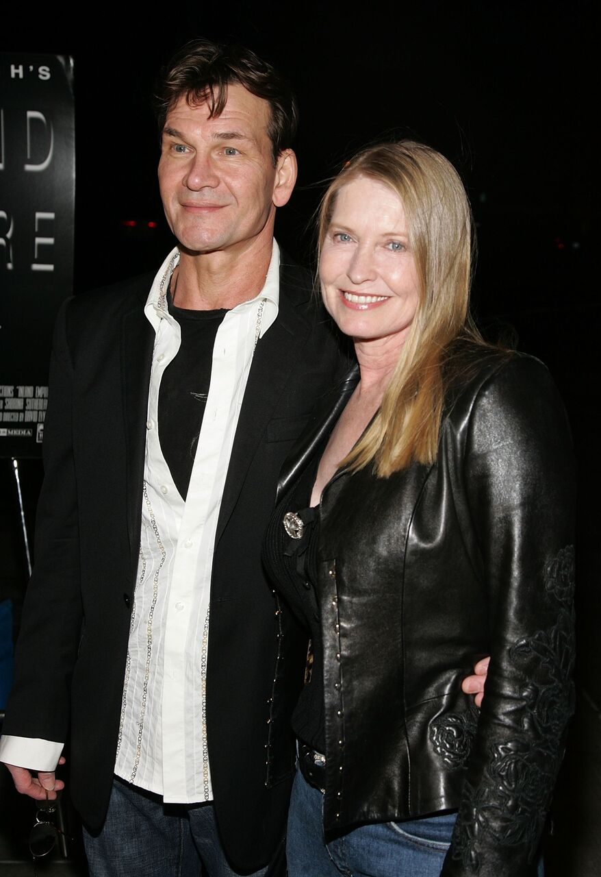 "Patrick Swayze and Lisa Niemi at the Los Angeles Premiere of ""Inland Empire."" 