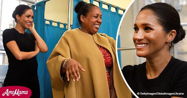 Meghan Markle fait sortir sa styliste intérieure en habillant une femme sans emploi pour un entretien d'embauche