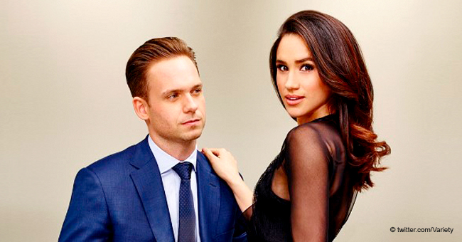 Meghan Markle's 'Suits' Husband Patrick J Adams Wishes Her Firstborn Son 'Much Love'