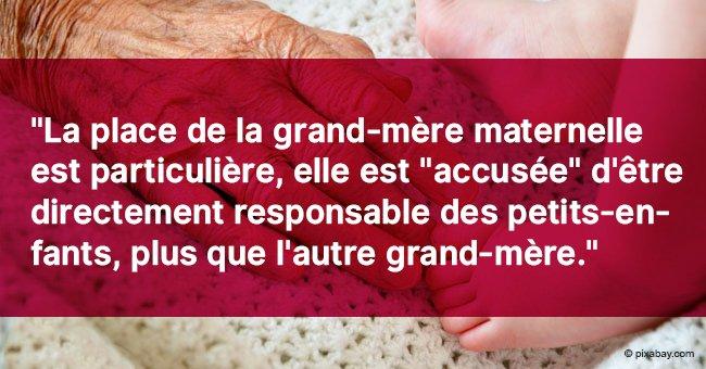 Les raisons principales pour lesquelles la grand-mère maternelle est si importante pour un enfant