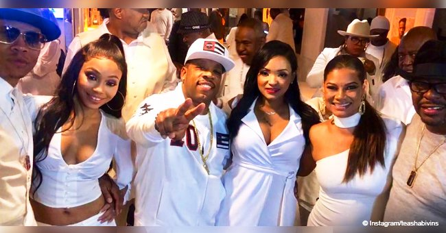 New Edition members and their wives celebrate Bobby Brown's 50th birthday in style