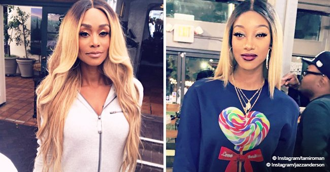 Tami Roman has a 22-year-old daughter who looks exactly like mom in recent photo