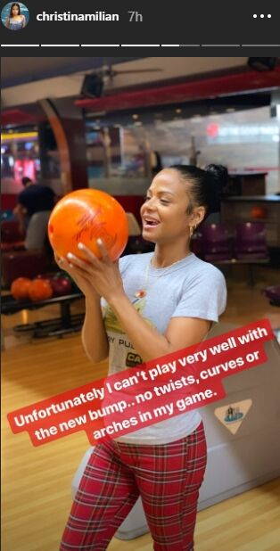 Source: Story Instagram de Christina Milian
