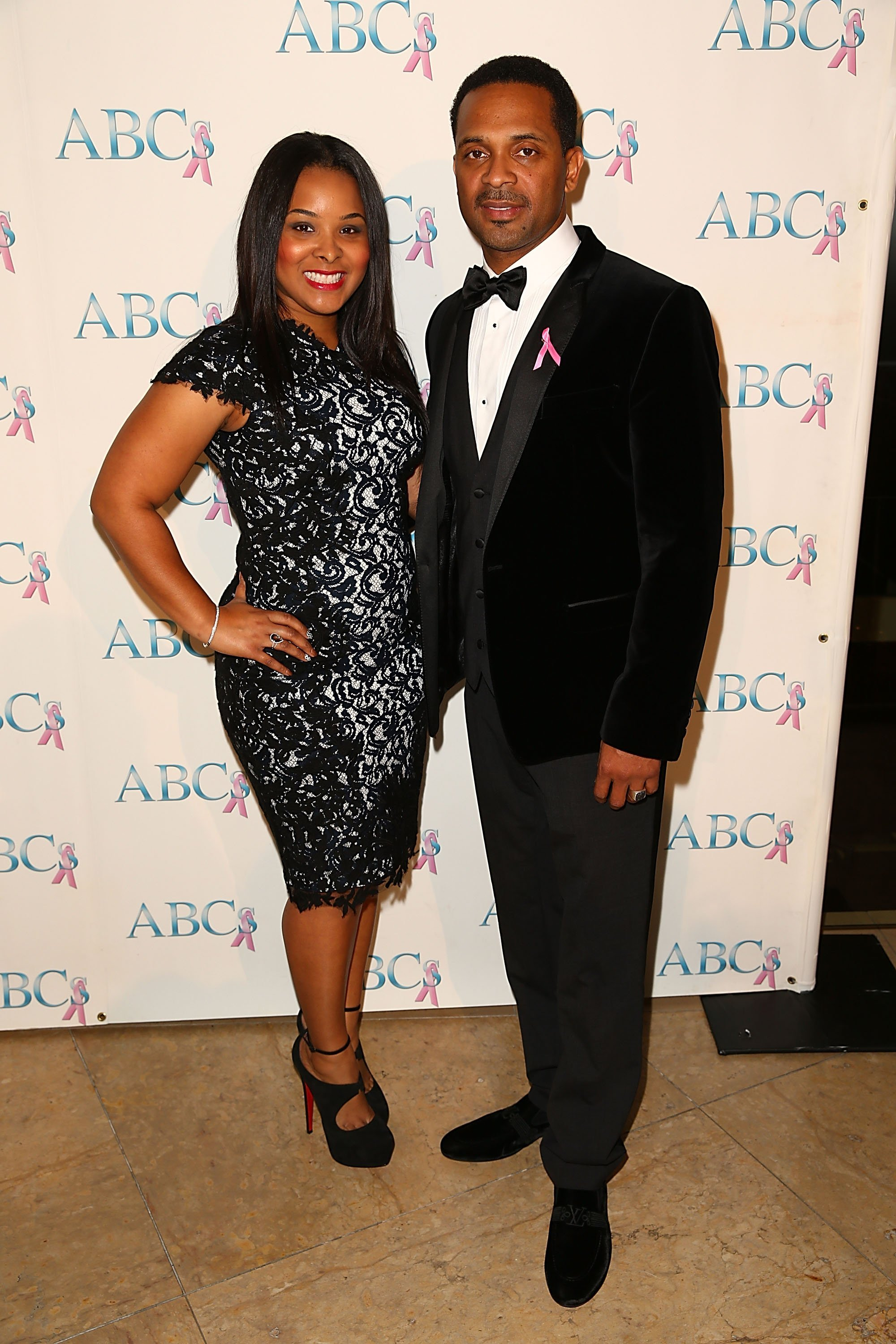 Mike Epps & Mechelle McCain at The Beverly Hilton Hotel in California on Nov. 23, 2013. | Photo: Getty Images