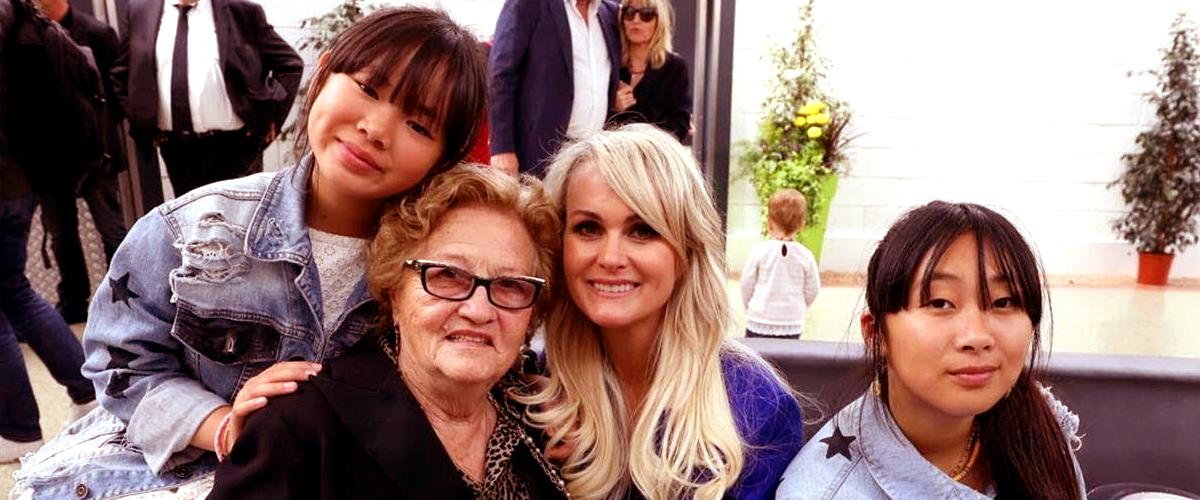 Mamie Rock a souhaité un chaleureux anniversaire à Joy Hallyday, sur Instagram