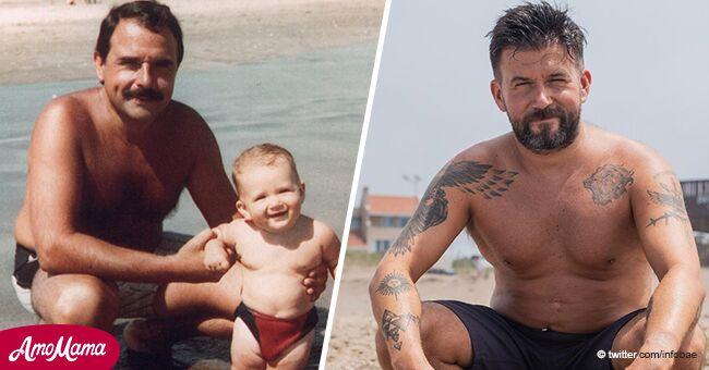 Hombre que perdió a su padre va cada año al lugar donde se tomaron su última foto hace 36 años