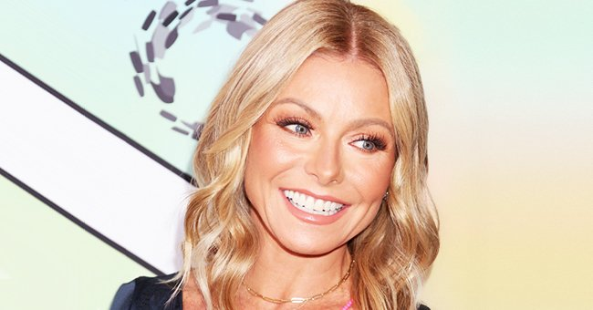 Kelly Ripa Shares a Photo of Husband Mark Consuelos Teaching Their Daughter and Son How to Shave on Father's Day
