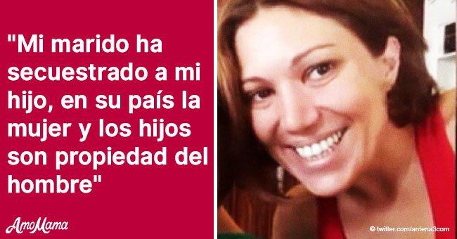 Una mujer de Granada comparte su dolor después de que su marido iraní secuestró a su hijo