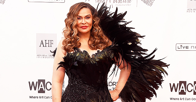 Tina Lawson's Feathered Black Dress Stole the Show as She Danced at Wearable Art Gala