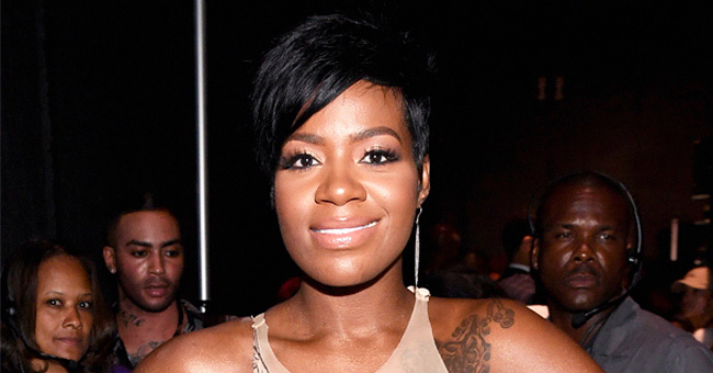 Fantasia Shows off Slimmer Curves in Tight Denim Dress after Her Weight Loss (Photo)