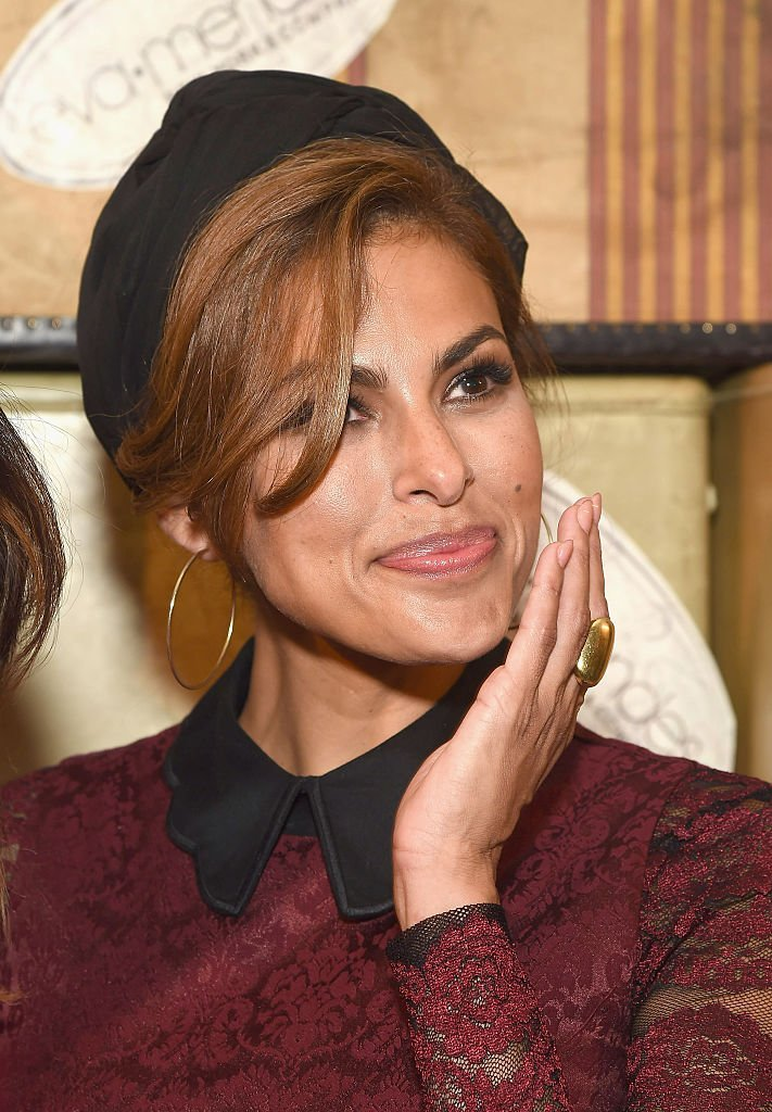 Eva Mendes arrives at the Eva Mendes X New York & Company FW 16 Show, at Academy Mansion, on September 6, 2016, New York | Source: Getty Images (Photo by Gary Gershoff/WireImage)