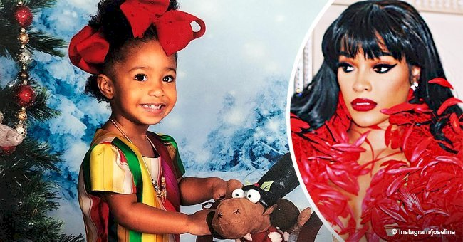 Joseline Hernandez slammed for  daughter's missing teeth & 'tacky' dress in recent holiday pic