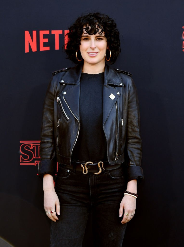 "Rumer Willis attends the premiere of Netflix's ""Stranger Things"" Season 3  