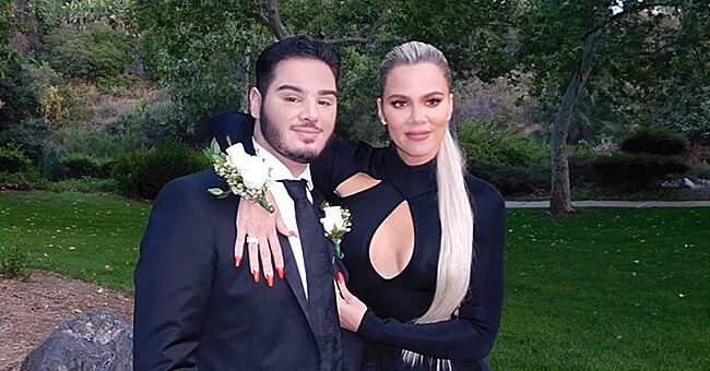 Khloé Kardashian Goes to Prom with a Fan (Photo)