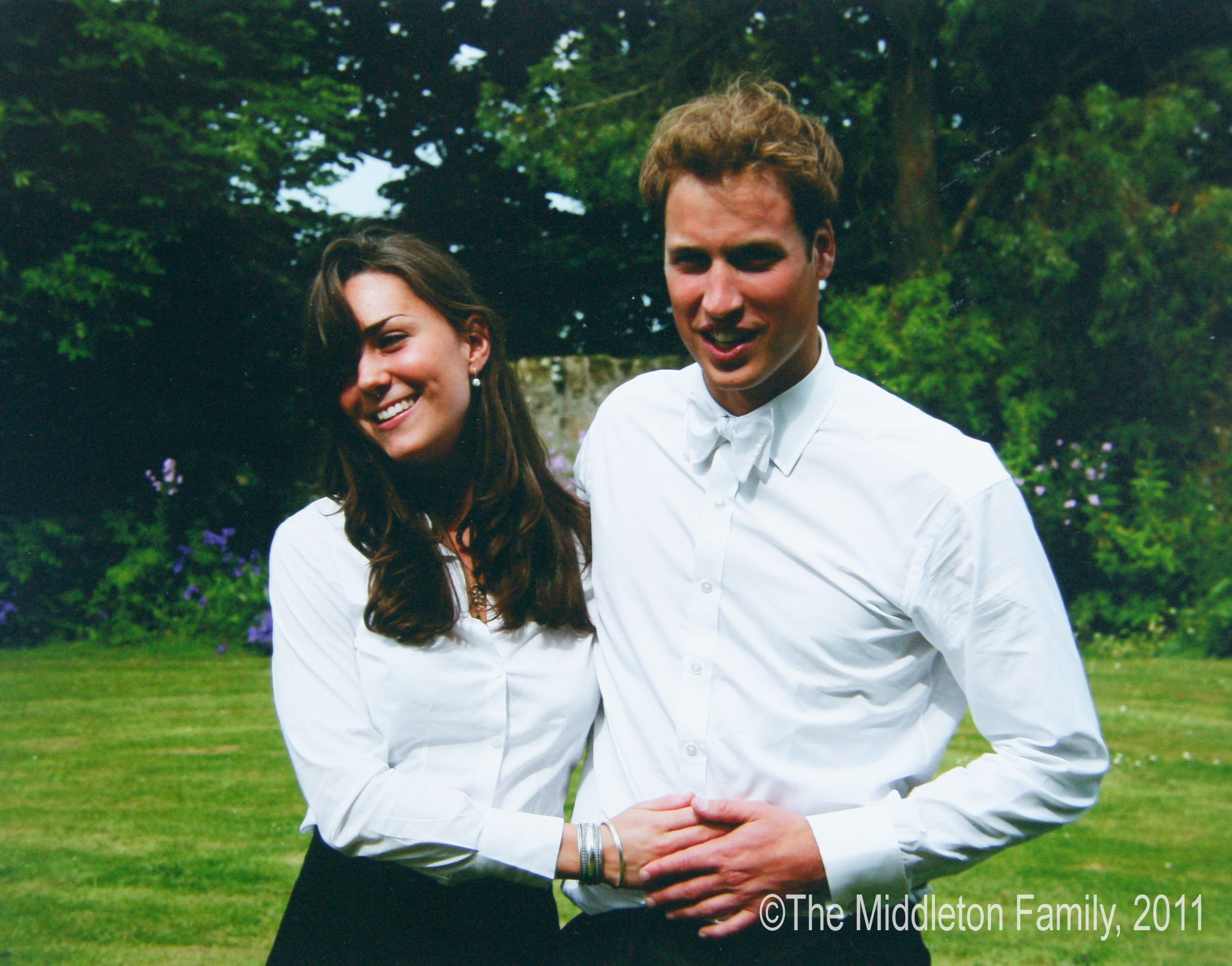 Prince William and Catherine Middleton at St Andrew's University in St Andrew's on June 23, 2005 in Scotland | Photo: Getty Images