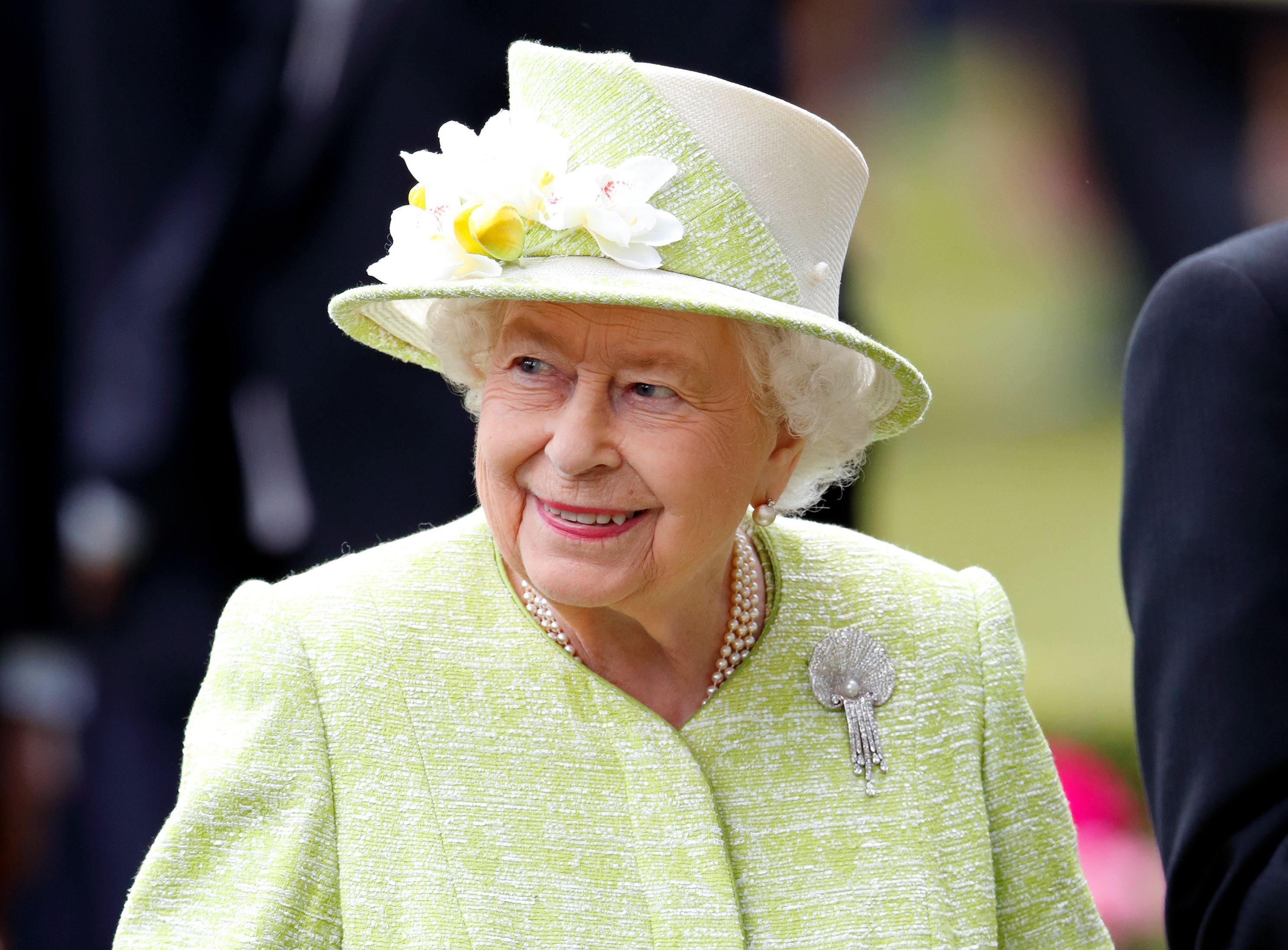 Queen Elizabeth II at day five of Royal Ascot at Ascot Racecourse on June 22, 2019. | Photo: Getty Images
