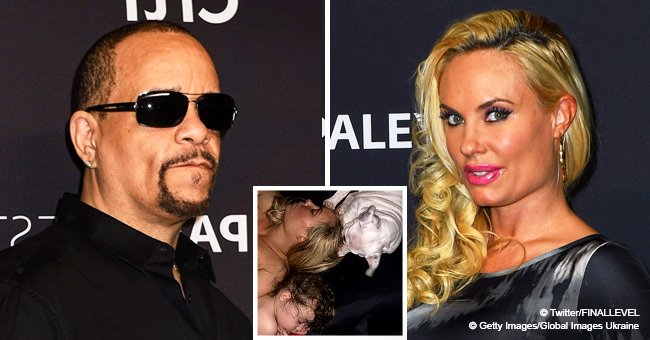 Ice-T fires back at criticism over picture of wife Coco sleeping topless next to their daughter