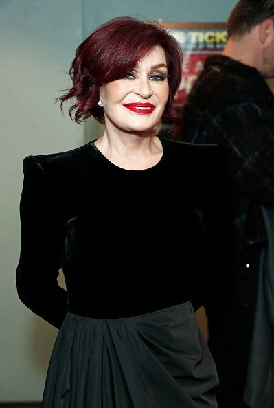 "Sharon Osbourne attends the press night performance of ""Nativity! The Musical"" on December 12, 2019 