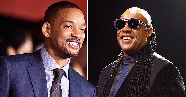 Stevie Wonder Surprises Will Smith during 'Hustlers' Screening to Sing for Him a Birthday Song
