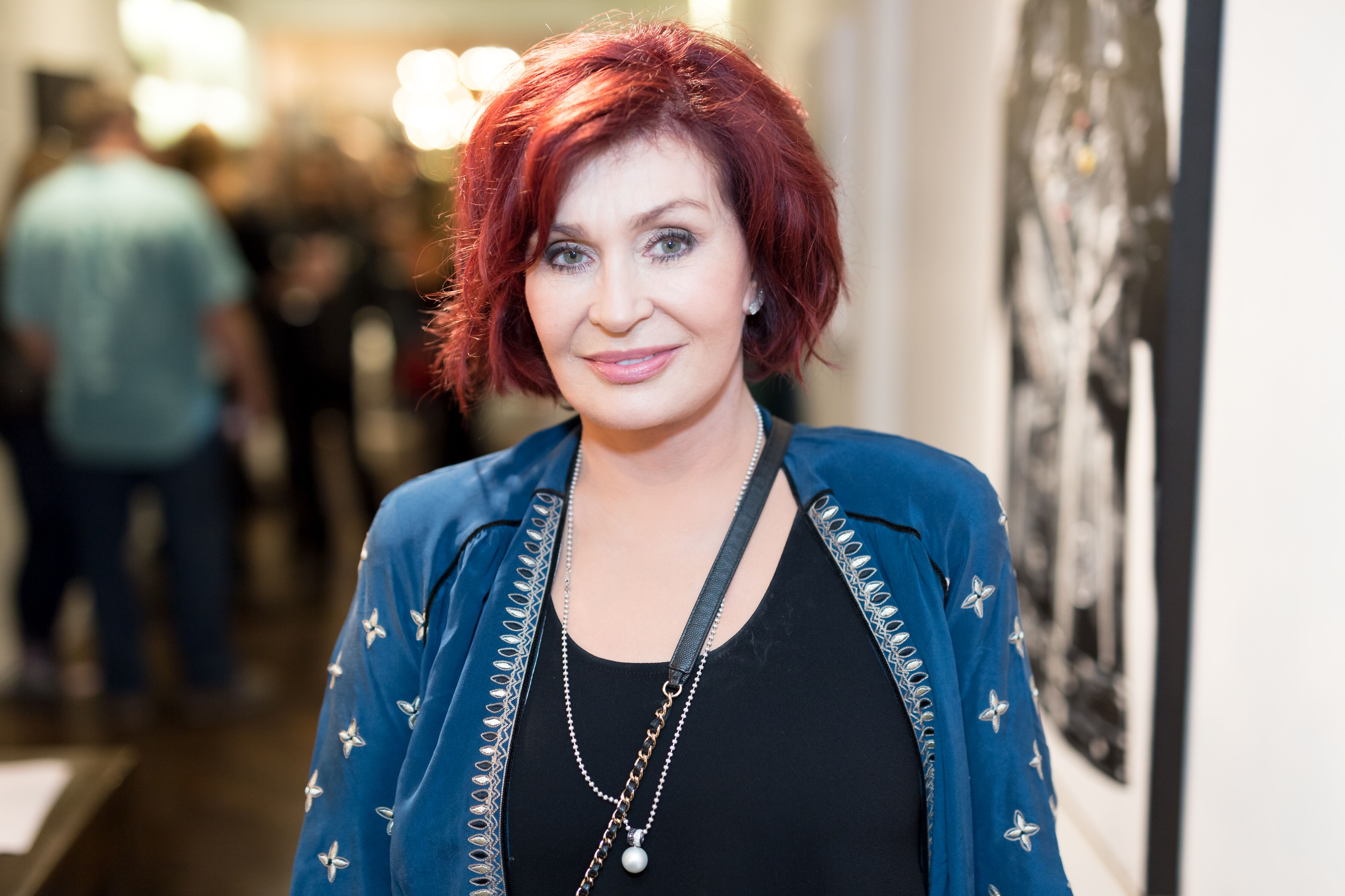 Sharon Osbourne at the Billy Morrison - Aude Somnia Solo Exhibition on September 28, 2017 in Los Angeles, California.   Photo: Getty Images