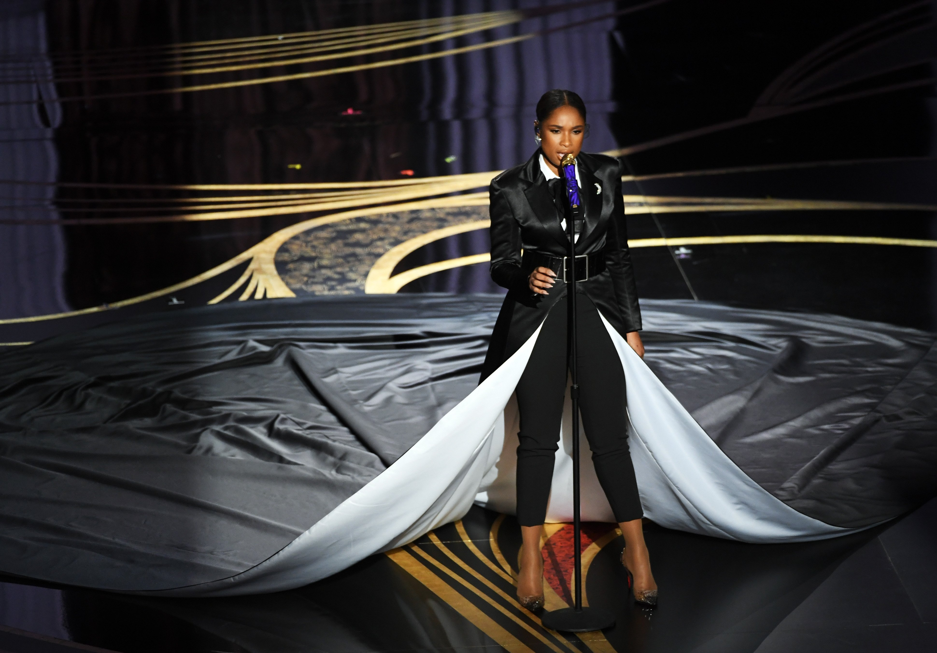 Jennifer Hudson performs onstage at the 91st Annual Academy Awards on Feb. 24, 2019 in California | Photo: Getty Images